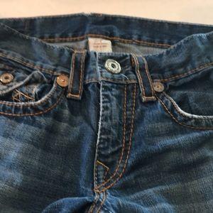 True religion men's jeans 31 waist 30 inseam.